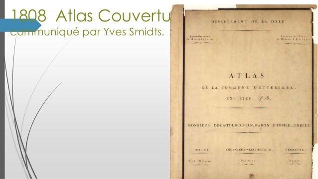 1808 Atlas Couverture communiqué par Yves Smidts.