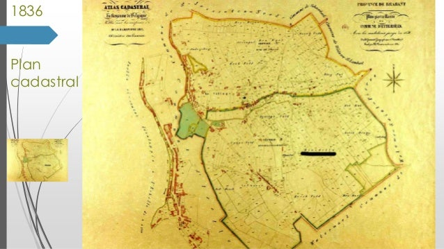 1836 Plan cadastral
