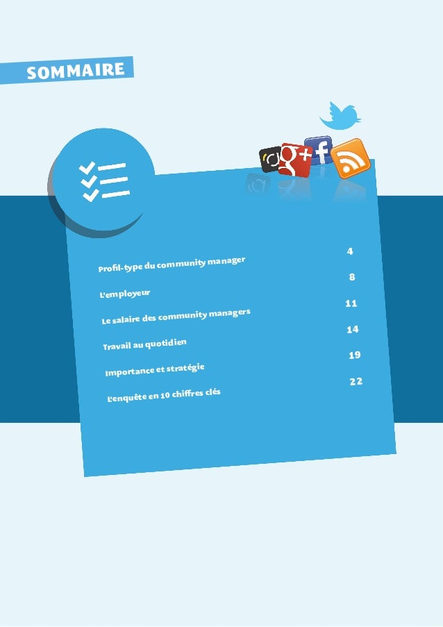 Etude les community managers en france 2013 Slide 3