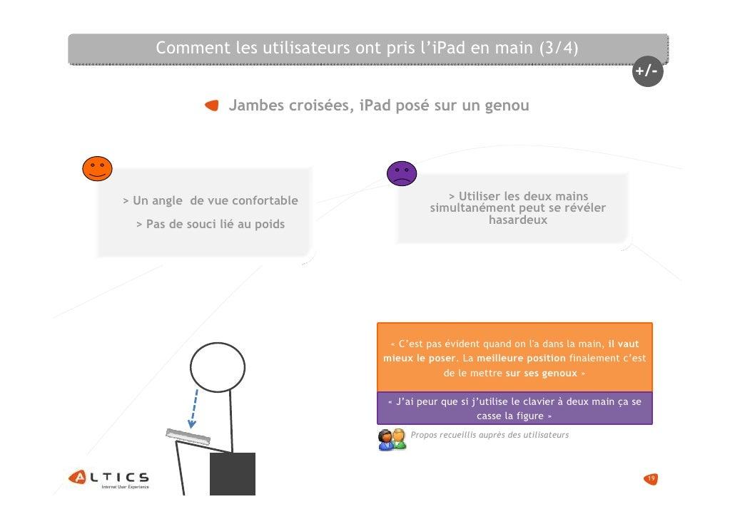 Comment les utilisateurs ont pris l'iPad en main (3/4)                                                                    ...
