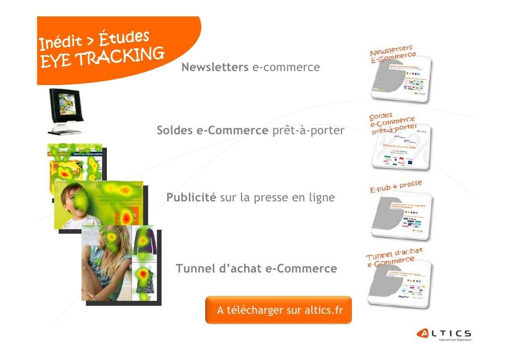 es Inédit > Étud EY E TRACKING                              Newsletters e-commerce                                        ...