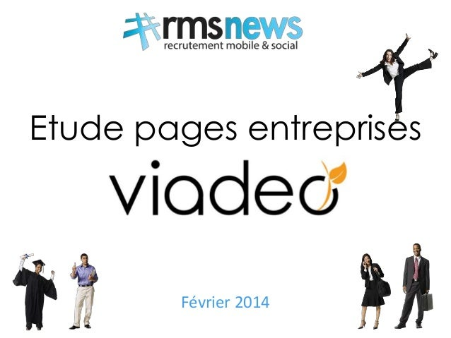 Etude pages entreprises Février 2014 1