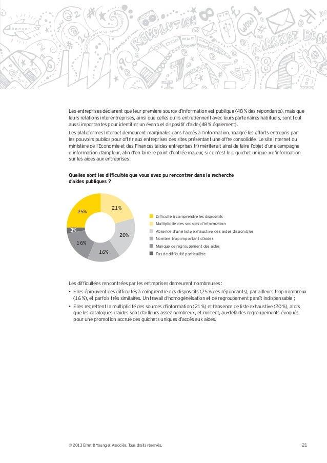 Les entreprises déclarent que leur première source d'information est publique (48 % des répondants), mais queleurs relatio...