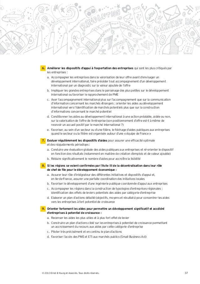 Etude aides publiques Ernst&Young