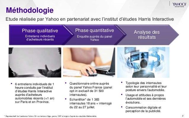 Etude auto 2014   l'itinéraire 2.0 du consommateur - Yahoo France Slide 2