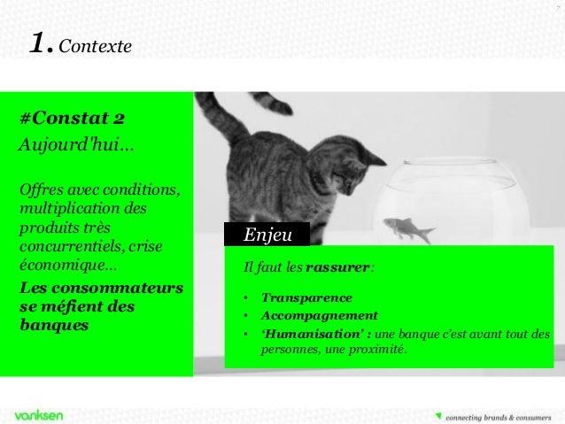 7  1. Contexte #Constat 2 Aujourd'hui… Offres avec conditions, multiplication des produits très concurrentiels, crise écon...