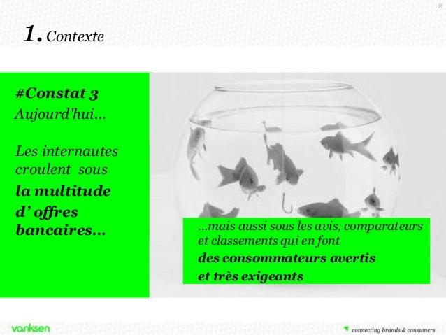 8  1. Contexte #Constat 3 Aujourd'hui… Les internautes croulent sous la multitude d' offres bancaires…  …mais aussi sous l...