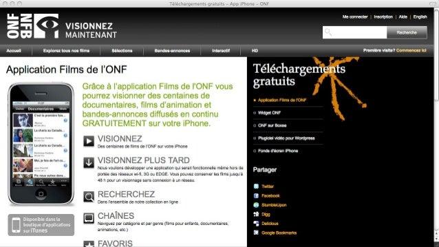 Étude de cas: scénarisation du documentaire interactif Sacrée montagne - ONF.ca Slide 3