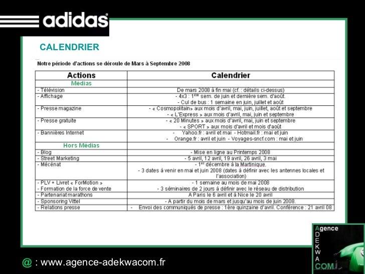 30 Octobre 07 @  : www.agence-adekwacom.fr CALENDRIER