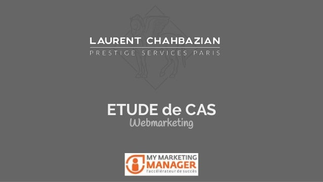 ETUDE de CAS Webmarketing