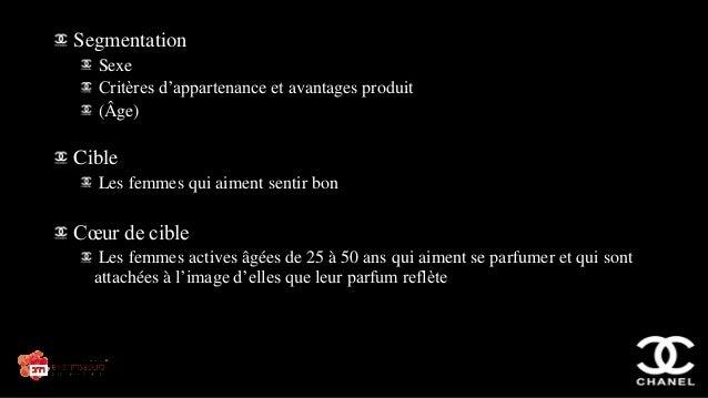CHANEL N°5 market segmentation
