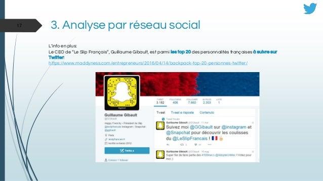 """L'info en plus: Le CEO de """"Le Slip Français"""", Guillaume Gibault, est parmi les top 20 des personnalités françaises à suivr..."""