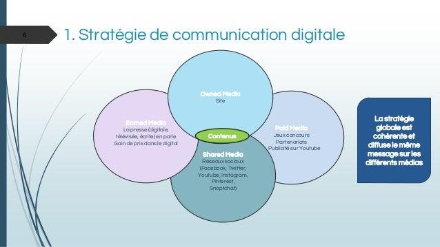Paid Media Jeux concours Partenariats Publicité sur Youtube Shared Media Réseaux sociaux (Facebook, Twitter, Youtube, Inst...