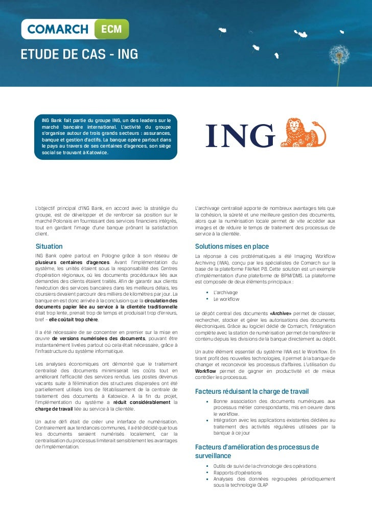ing bank optimise son edi avec comarch