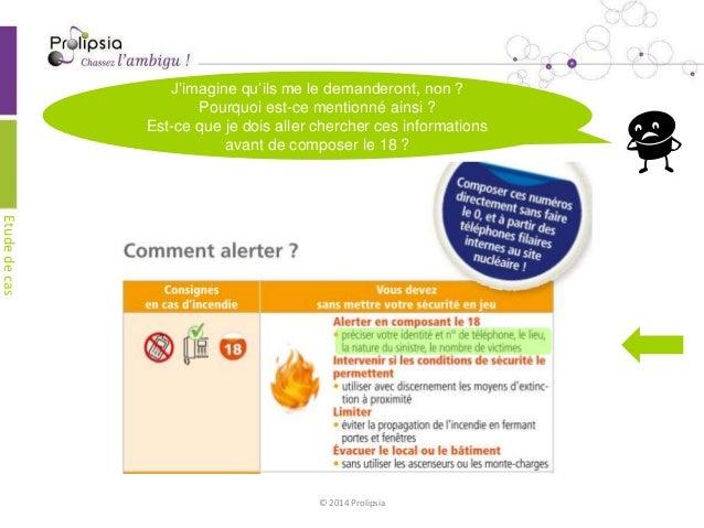 Etude de cas Prolipsia - consignes sécurité - edf Slide 3