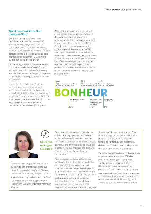Deloitte Capital Humain Qualite De Vie Au Travail Et La Bienveill