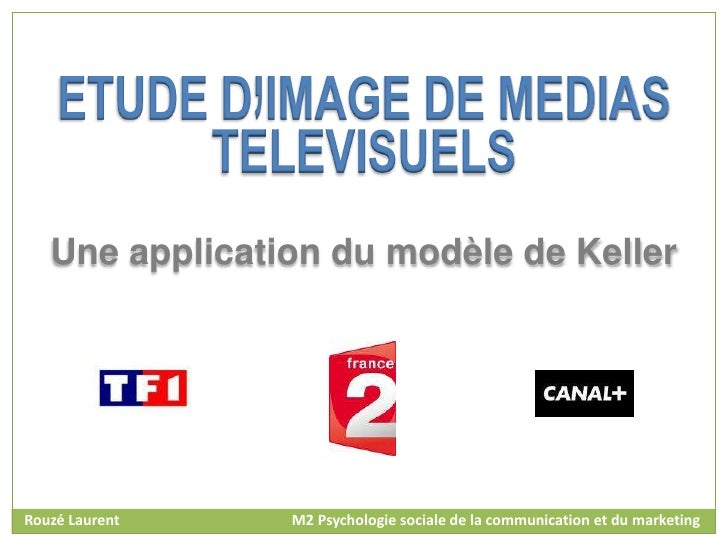 Une application du modèle de KellerRouzé Laurent   M2 Psychologie sociale de la communication et du marketing