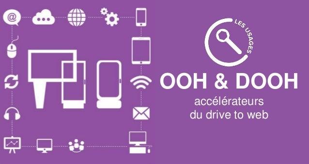 OOH & DOOH accélérateurs du drive to web