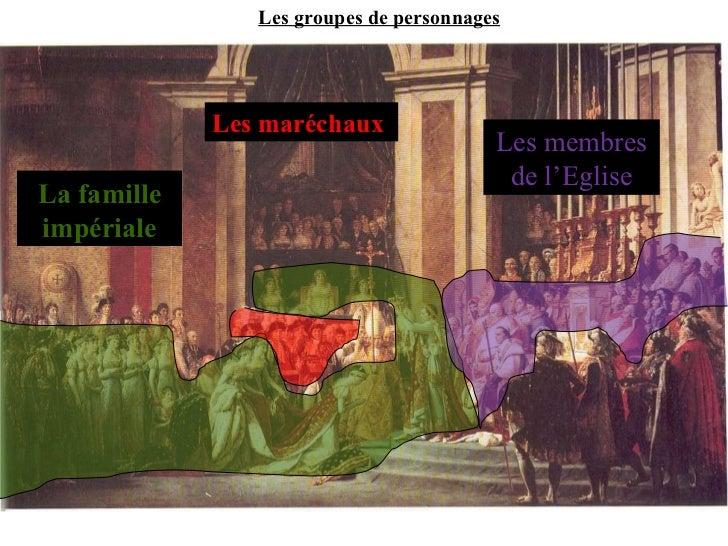 Etude Du Sacre De Napoleon Par David