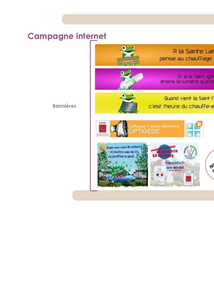 Campagne internet     Bannières                      !   LE                        EL NE                      UV G        ...