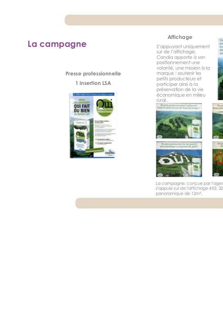 AffichageLa campagne                     S'appuyant uniquement                                sur de l'affichage,         ...