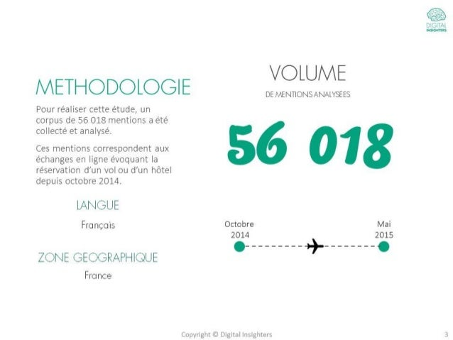 Tourisme : Etude sur le parcours d'achat des internautes Slide 3