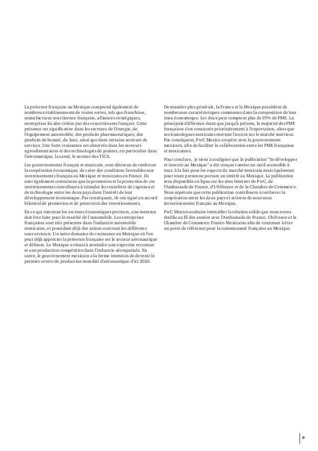 Etude pwc ubifrance se d velopper et investir au mexique - Chambre de commerce franco mexicaine ...
