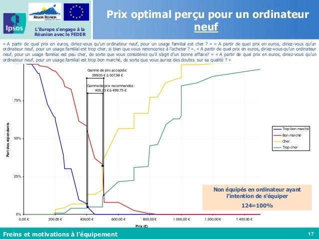 17 L'Europe s'engage à la Réunion avec le FEDER Ordinateur neuf pour usage familial - PSM Gamme de prix acceptés: 399,05 €...