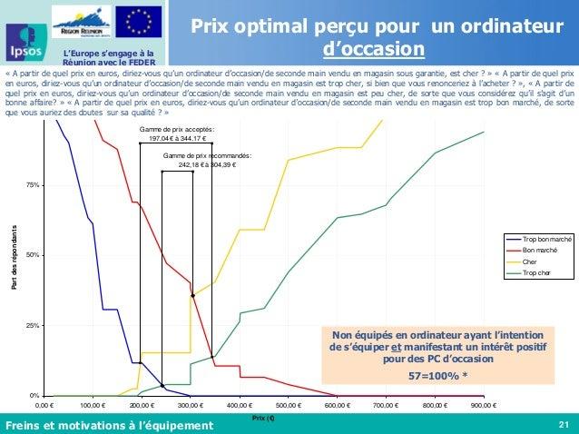 21 L'Europe s'engage à la Réunion avec le FEDER Ordinateur occasion sous garantie - PSM Gamme de prix acceptés: 197,04 € à...