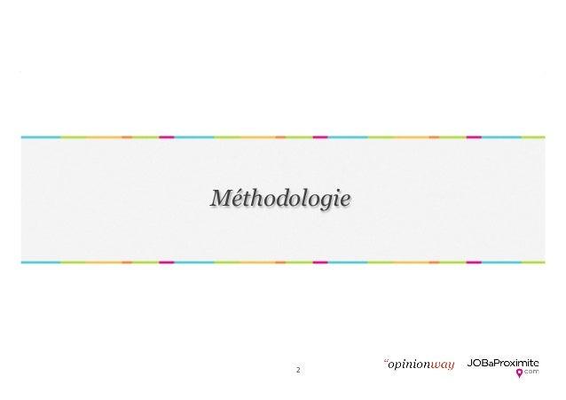 OpinionWay pour Jobaproximite - Etude recrutement - 04022014 Slide 2