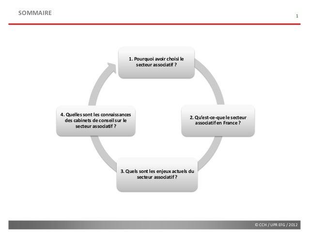 Etude sectorielle   ophélie naudin - le secteur associatif en france (diffusion) Slide 2