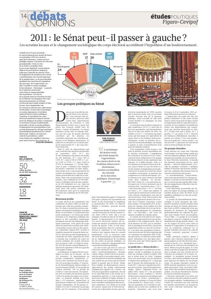 débats    mardi 7 septembre 2010 LE FIGARO     14                                                                         ...