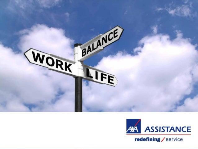 AXA Assistance a examiné  l'équilibre travail - vie personnel des Belges  Un sondage auprès de 983 Belges  sur le travail ...