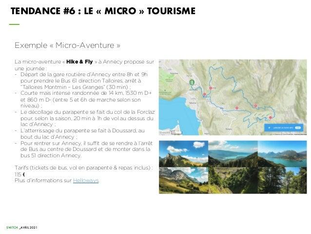 Exemple « Micro-Aventure » La micro-aventure « Hike & Fly » à Annecy propose sur une journée : - Départ de la gare routièr...