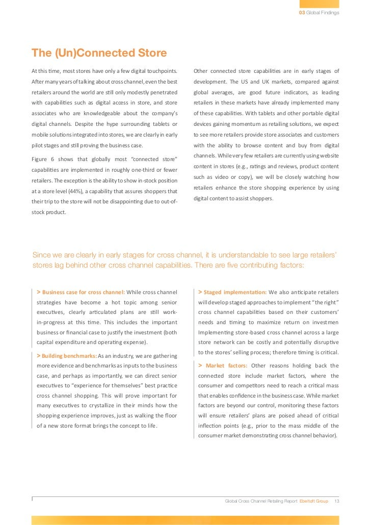 Etude sur les pratiques et efficacité des stratégies cross