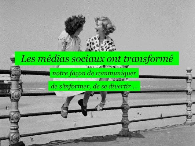 Tendances Social Media 2014  Slide 2