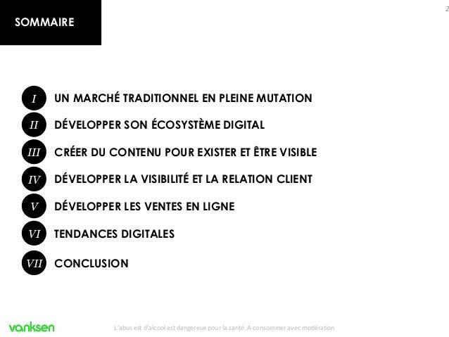 Vin et digital, quelles opportunités pour votre marque ? Slide 2