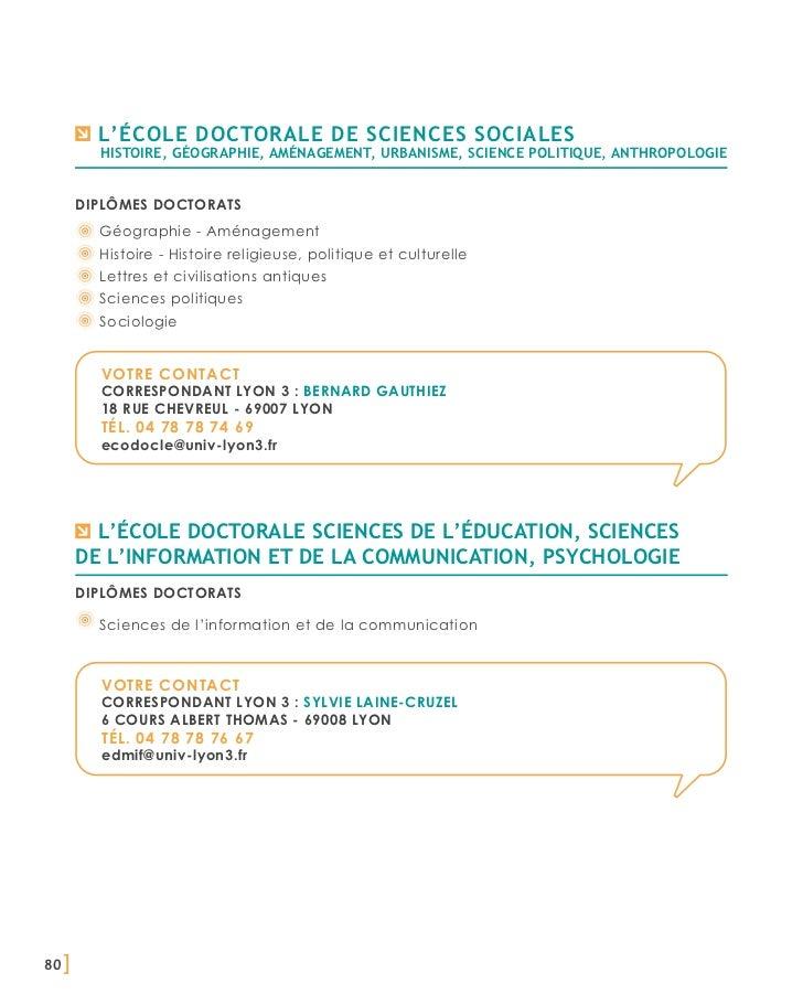 la recherche de sciences sociales        L'école doctorale         histoire, géographie, aménagement, urbanisme, science p...