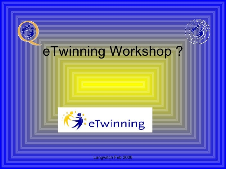 eTwinning Workshop ?