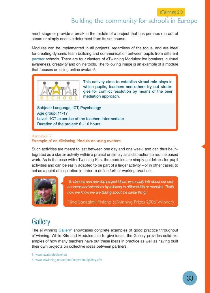 eTwinning 2 0 brochure