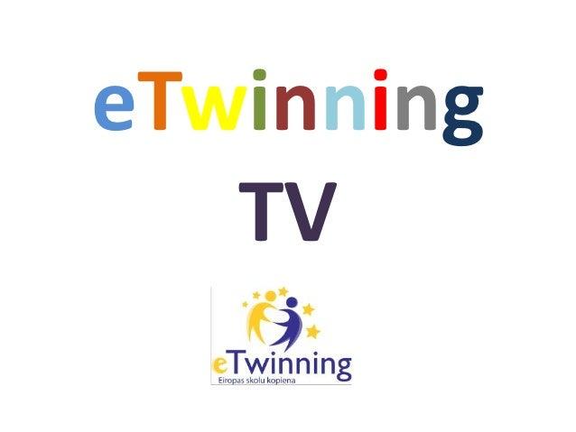 eTwinning   TV