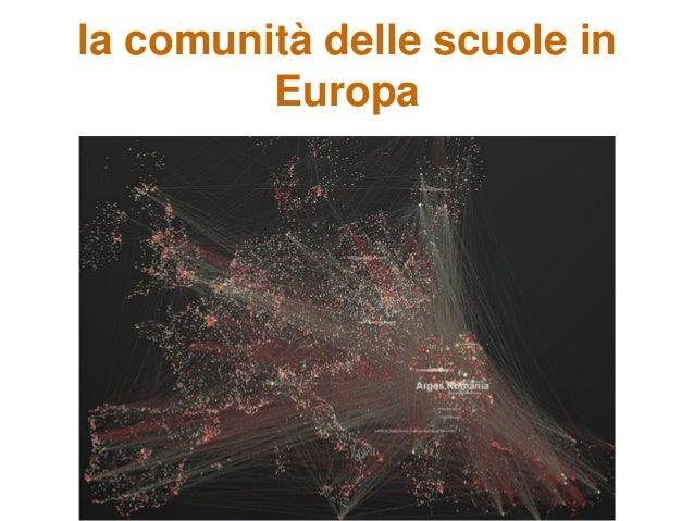 la comunità delle scuole in Europa