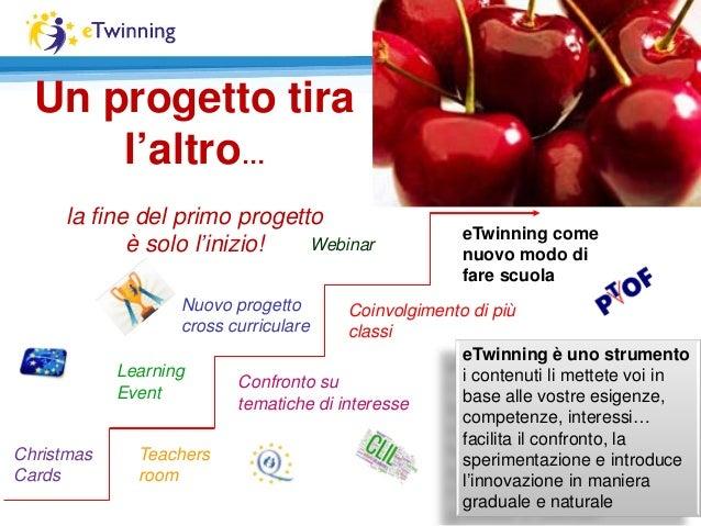 Un progetto tira l'altro… la fine del primo progetto è solo l'inizio! Christmas Cards Teachers room Learning Event Nuovo p...