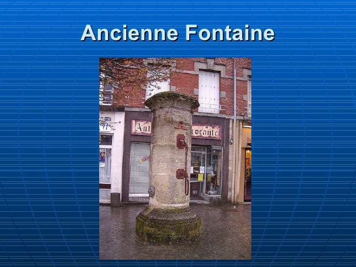 Ancienne Fontaine