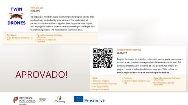 Sessão eTwinning em Tondela