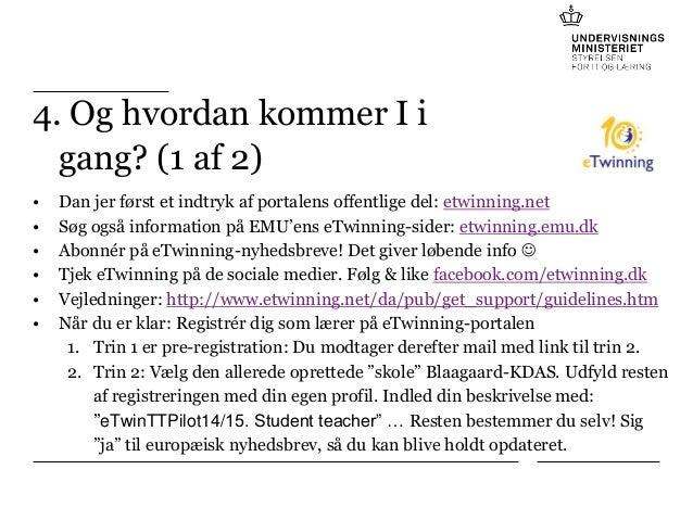 eTwinning - Teacher Training Institute Pilot (UCC Blaagaard-KDAS)