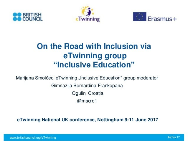 "All images © Mat Wright www.britishcouncil.org/eTwinning #eTuk17 On the Road with Inclusion via eTwinning group ""Inclusive..."