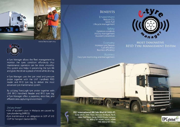e-tyre manager brochure