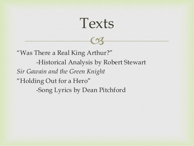 Sir Gawain and Green Knight Essays Papers