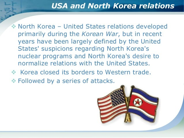 north korea and the us relationship